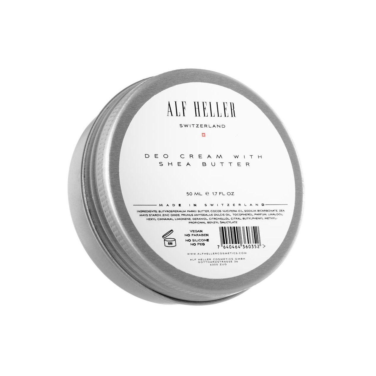 Alf Heller Switzerland-DEO CREAM with shea butter